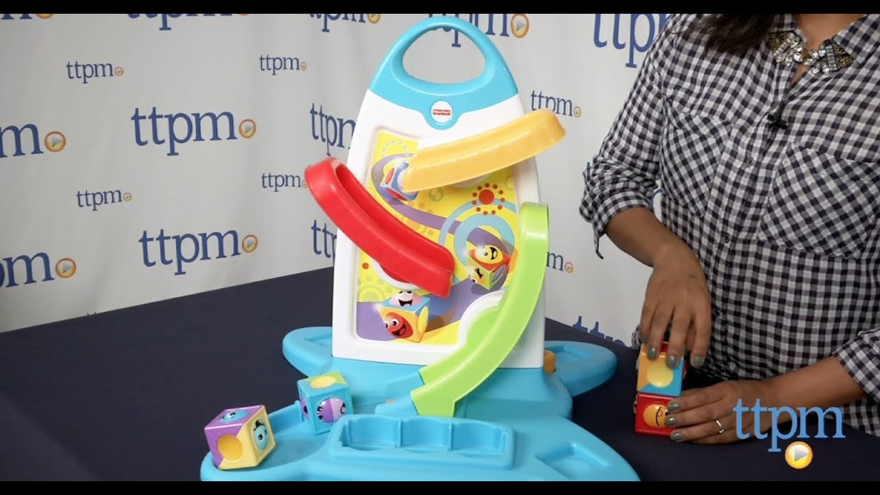 Roller Blocks Play Wall From Fisher Price Youtube