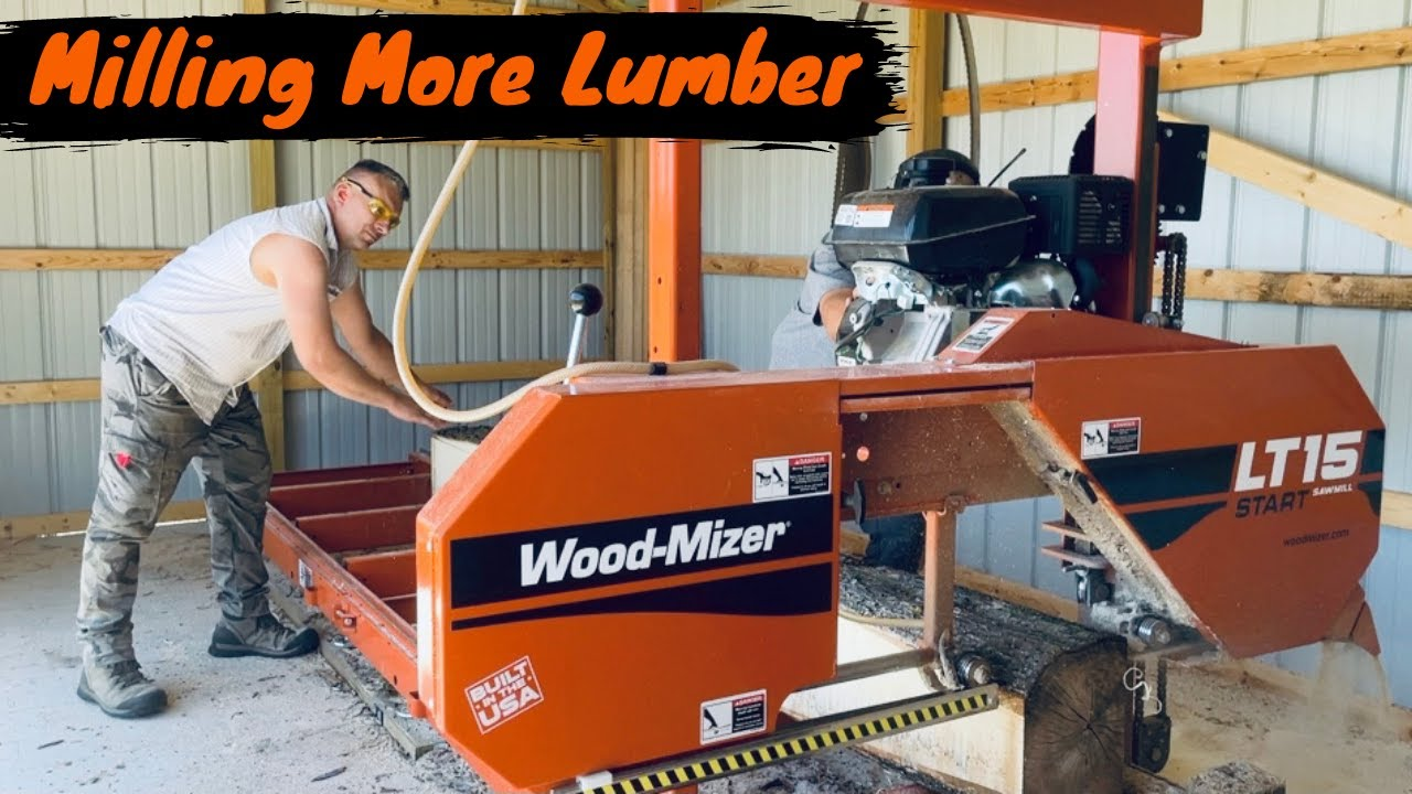 Milling More Lumber on the Wood-Mizer LT 15 Sawmill