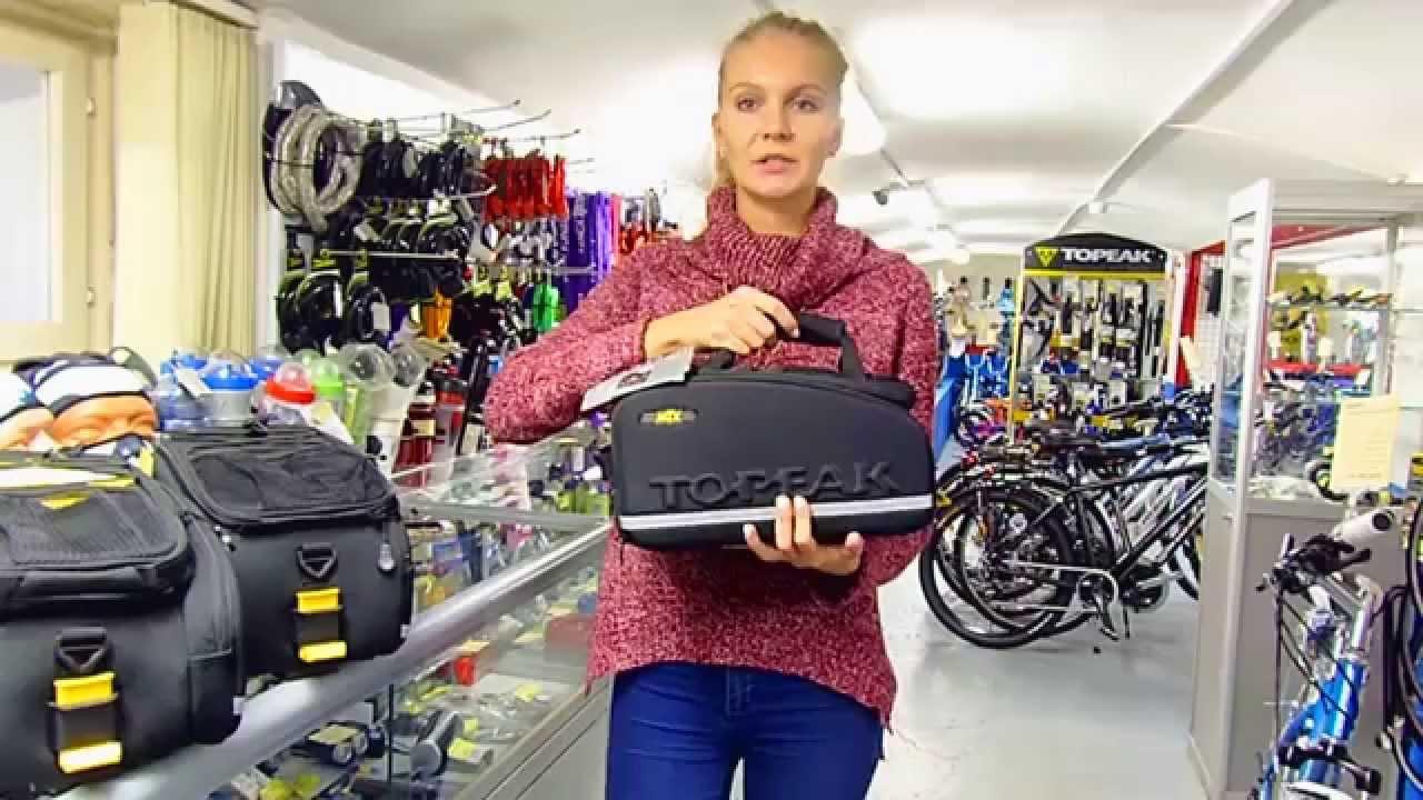Велобагажник Ibera RA11 консольный - Veloparts.com.ua - YouTube