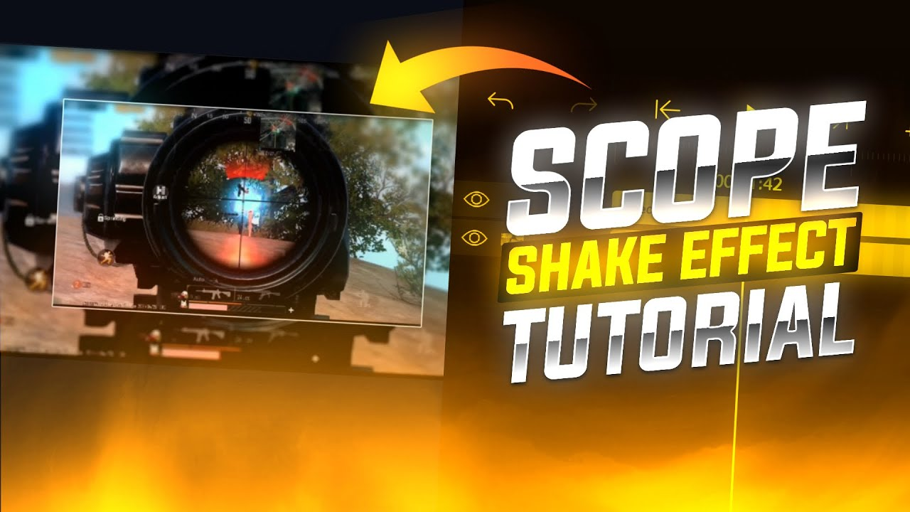 Scope Shake Effect like 777 🔥   In Android    Alight Motion Tutorial