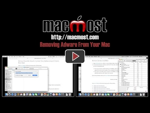 Removing Adware From Your Mac
