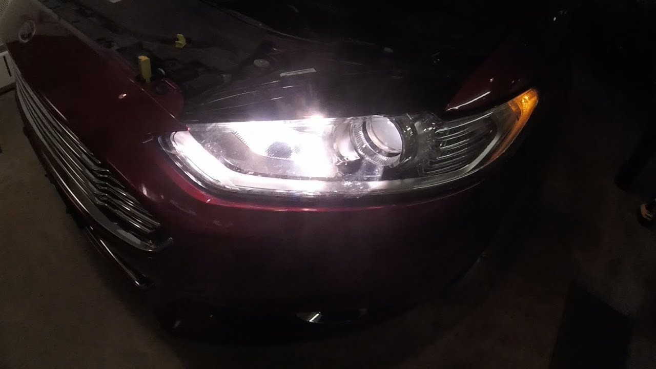 Ford Fusion Headlight Replacement With Leds