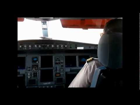 Airbus a330-200 cockpit: Boardig+Take off+landing ✈ ✈