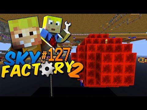 Ein riesiger Energiekern! - Minecraft Sky Factory 2 Folge #127