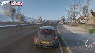 Forza Horizon 4 - 2008 Renault Mégane R26.R Gameplay [4K]