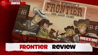 Frontier Card Game Honest Review