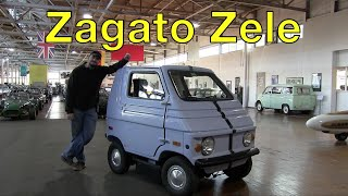 The Elcar Is A Tiny Electric Car Box Thing Made By Zagato