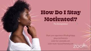 Finding Happy Podcast - How to stay motivated! #CoachRacquel #UMERADIO