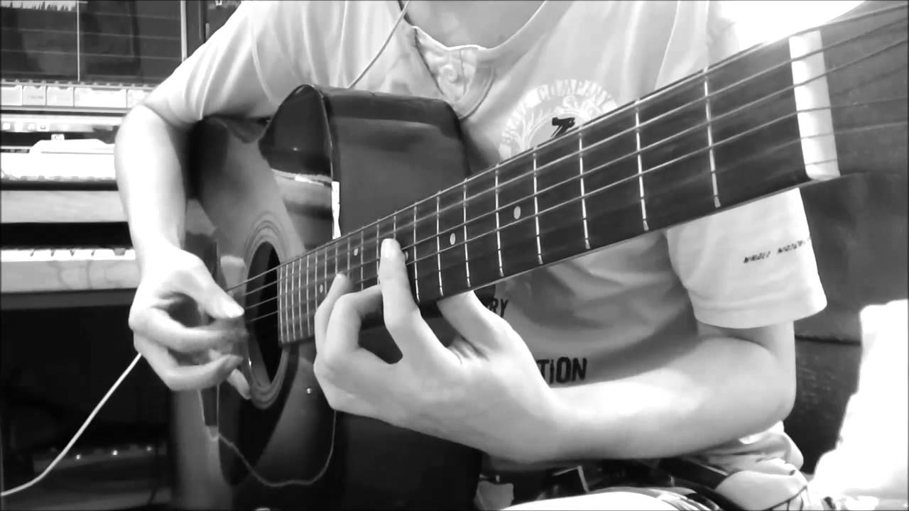 Good Bye Days Yui Guitar Fingerstyle Cover Youtube
