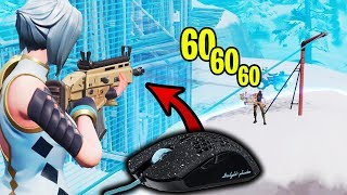 This is WHY I'm SWITCHING to TFUE'S Mouse... (My AIM is INSANE!)