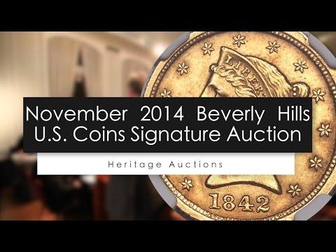 U.S. Coins Signature Auction November 2014 - Beverly Hills , CA