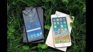 Розпакування iPhone 8 Plus | знято на Samsung Galaxy Note 8