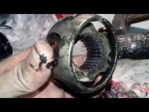Mercedes-Benz E-класса. Замена пыльника ШРУСа (гранаты) на Мерседес Бенц Е200. #АлексейЗахаров