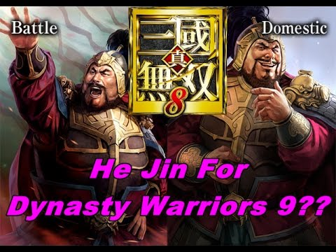 He Jin For Dynasty Warriors 9?? Lets Talk About It and leave your comments below peoples