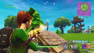 MY SCARIEST FORTNITE SOLO GAME EVER!!