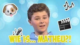 #8 WIE IS MATHEU? 🎬 |🌟FINALISTEN STELLEN ZICH VOOR🌟| JUNIOR SONGFESTIVAL 2019🇳🇱