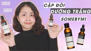 Review Toner & Serum Galactomyces Pure Vitamin C Glow SomeByMi   ♡ Quin