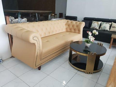 Sofa Phòng Khách - Sofa Nệm Phòng Khách - Bàn Ghế Sofa Phòng Khách Đẹp