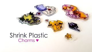 Watch me Craft ♥ DIY Shrink Plastic Charms
