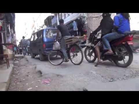Kathmandu - Menschen und Strassen