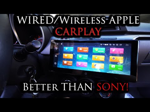 2019 Ultrawide 10.25 INCH car stereo?! Can't believe I am doing this! | Double Din | Apple Carplay
