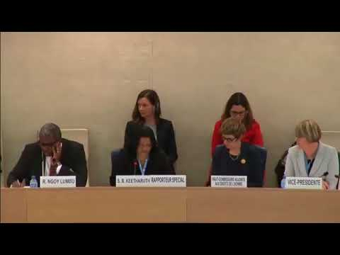 Enhanced ID: SR on Human Rights in Eritrea   30th Meeting, 37th Regular Session Human Rights Council