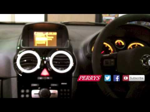 How to set up Bluetooth on a 2013 Vauxhall Corsa