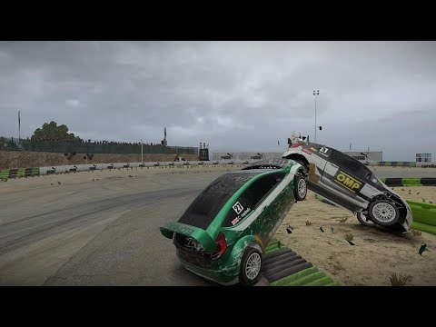 Dirt 4 Rallycross crashes