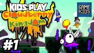 Matt, Webb And Mills Play Cloudberry Kingdom Part 1 - Kids Play