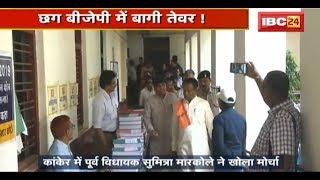 Loksabha Election 2019 : Ticket ऐलान के बाद बढ़ा Tension | Chhattisgarh BJP में बागी तेवर thumbnail