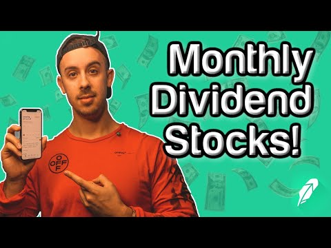 5 Best Monthly Dividend Stocks To Invest In 2020