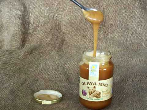 Creamed Organic Raw  Heather honey - earthy flavour with health benefits