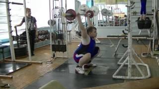 Бикмулин Илья, 11 лет, вк 77 Жим в седе с груди 20 кг 5х4