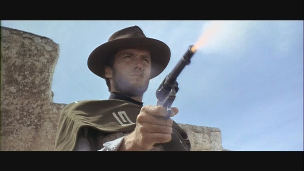 """Download Clint Eastwood/Sergio Leone """"Dollar Trilogy"""" Every shot fired in Chronological order"""