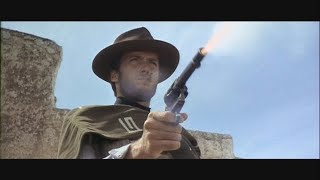 """Clint Eastwood/Sergio Leone """"Dollar Trilogy"""" Every shot fired in Chronological order"""