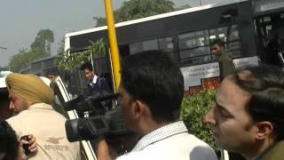 Kashmiri Pandit beaten in Chandigarh by Police