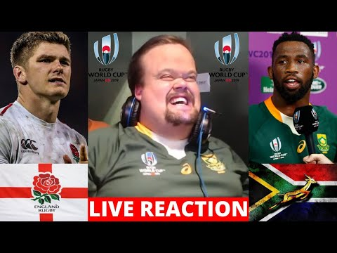 England Vs Springboks Live Reaction | Rugby World Cup Final 2019