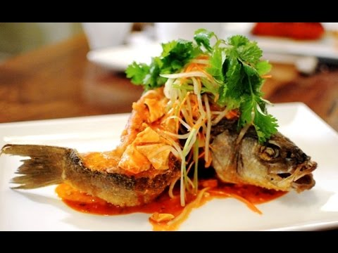 How To Make Crispy Fried Fish | Pan Fry Fish | Fried Whole Fish Recipe 煎魚 Authentic Chinese Cooking