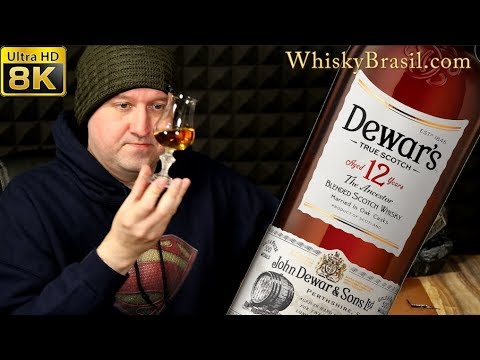 Whisky Brasil 275: Dewar's 12 Review [8K]