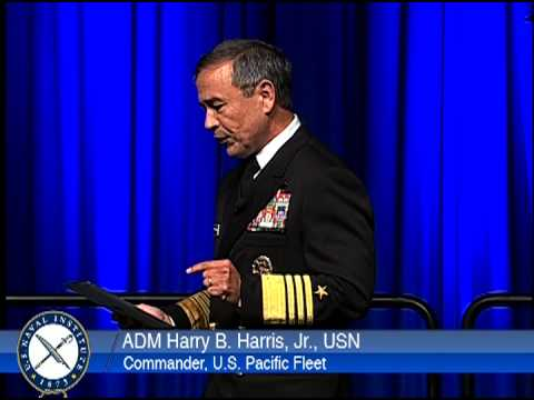 WEST 2014: ADM Harry B. Harris, USN