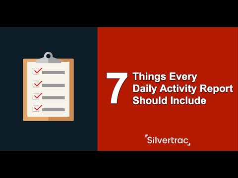 7 Things Every Security Guard Daily Activity Report Should