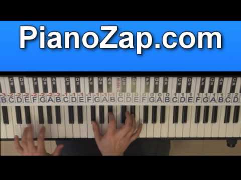 How To Play The Death Of You And Me - Noel Gallagher On Piano Tutorial