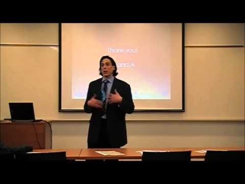 Health Career Symposium 2015 - Jonathan Kerr - Jobs, Careers and Vocations