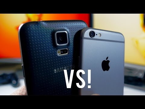 Samsung Galaxy S5 vs Apple iPhone 6 - 10 Reasons To Go Samsung