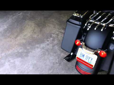 2011 Harley Street Glide with RUSH slip-on mufflers - Who let the DOGZ out!?!