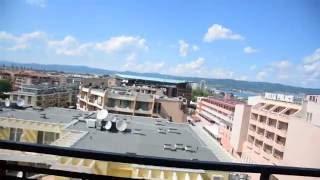 Отдых в Болгарии 2016 г. Номер в отеле Каролина (Karolina Sani beach) 4*  (1-я часть).(В настоящем видеоролике приведено наглядное описание уровня комфорта в номере отеля., 2016-06-30T17:56:27.000Z)