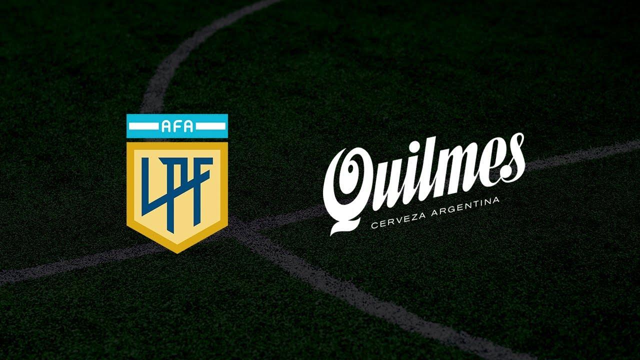 La AFA y la Liga Profesional de Fútbol presentan a Quilmes como sponsor principal de la LPF.