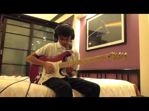 """Pink Floyd """"A Great Day For Freedom"""" guitar solo cover"""