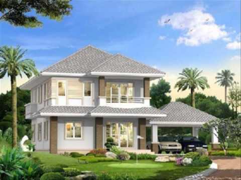 แบบบ้านสร้างเสร็จ วัสดุสร้างบ้าน eco