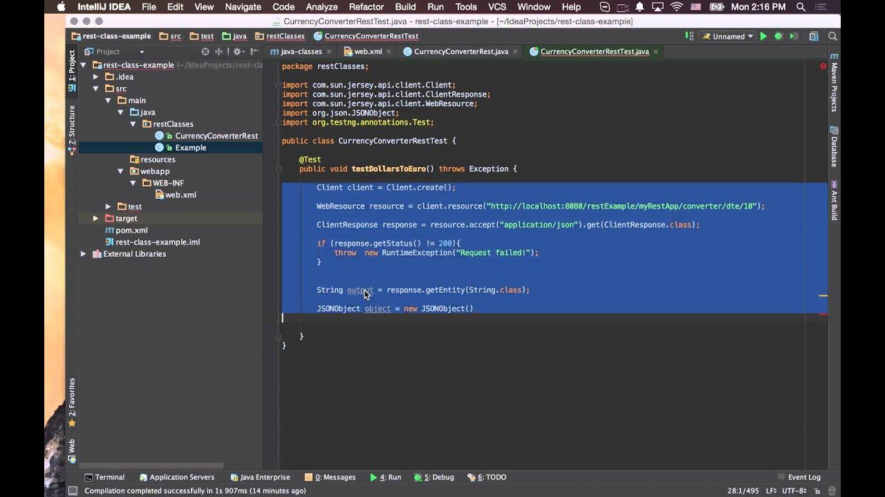 REST api testing using TestNG java #3